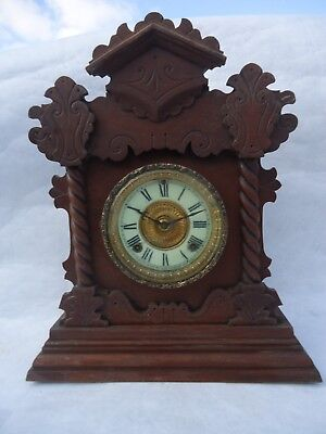 Antique Ansonia Mantle Clock. Spares Or Repair