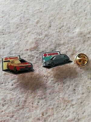 2 Pin's Pins Toyota cars voiture auto