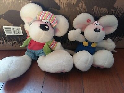 lot 2 peluches Diddl