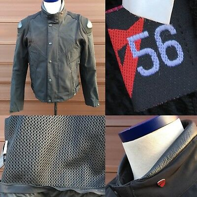 DAINESE DUCATI TEXILE armoured jacket size 56