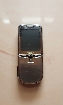 Nokia 8800 SIlver CERT - Cell Phone SUPER RARE COLLECTIBLE RRR