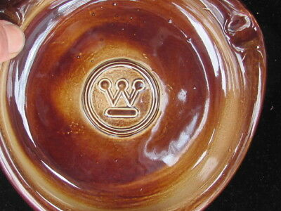 Vintage-Westinghouse Collectable Ashtray-Brown Color-Excellent