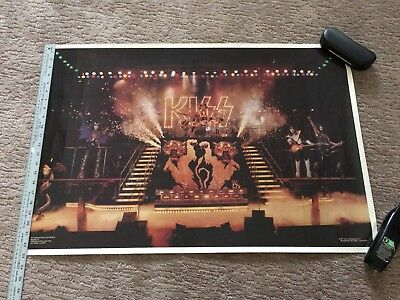 Kiss Alive 2 Poster 1977 Great Condition L@@K!!!