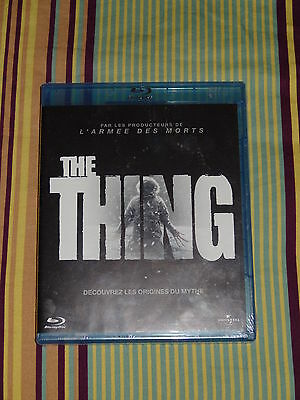 Blu-Ray The Thing (2011) Ss Cello - M. E. Winstead