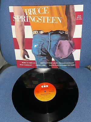 Bruce Springsteen Born In The Usa Rare 12 Inch Holland Promo 12 Inch From 1984