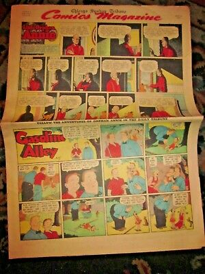 Vtg Chicago Sunday Tribune Newspaper Comic Section-Dick Tracy-Gould-June 22 1947