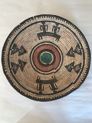 Vintage Or Older Hand Woven Indian Basket