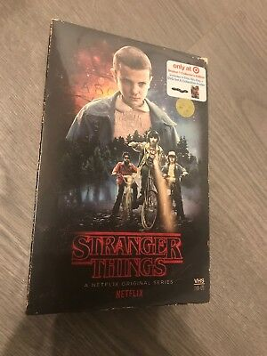 Stranger Things: Season 1 (Collectors Edition Target Exclusive) Blu-ray SEALED