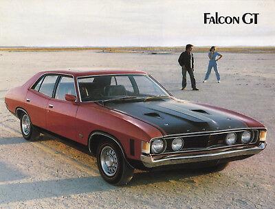 Ford Falcon Gt Leaflet, Ford Motor Company Of Australia.