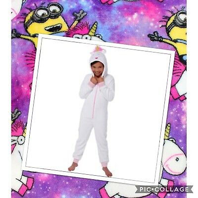 Unicorn fluffy from despicable me 3 all in one pyjamas