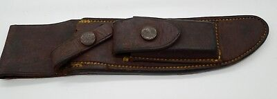 Vintage Rare H.H. Heiser Randall 3-6 Knife Brown Button Sheath Preowned Cond.