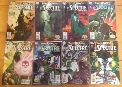Tales Of The Unexpected  1 2 3 4 5 6 7 8  All Nm  The Spectre  Mignola