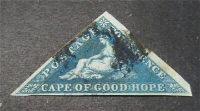 nystamps British Cape Of Good Hope Stamp # 4 Used $70
