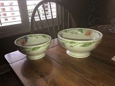 Villeroy And Boch Amapola Serving Bowls(2)