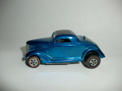 Hotwheels Redline Blue Classic '36 Ford Coupe!