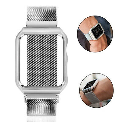 Cool Stainless Steel Magnetic Watch Band Strap for Apple Watch Series 1/2/3/4 Li
