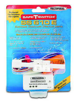 Safe-T-Switch SS 610 E Electronic Condensate Overflow Switch Rectorseal NIP