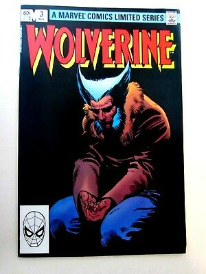 Wolverine #3. 1982. Nm/mt (9.8). Limited Series. Frank Miller Cover And Art