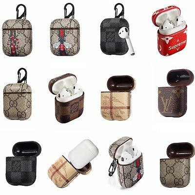 AirPods Case Protective PU Leather Holder Bag For Apple Air Pod Accessories