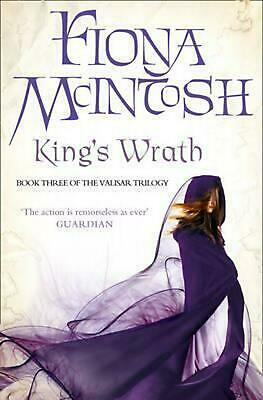 King's Wrath: Book Three of the Valisar Trilogy by Fiona Mcintosh (English) Pape