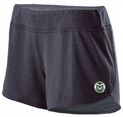 low priced 7050a 5b70a Ouray Sportswear NCAA Colorado State Rams Women s Boundary Shorts, Large,  Gra.