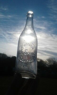 buffalo lick springs soda bottle union s.c. 12oz south Carolina sc