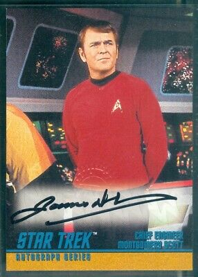 STOS Season 2 (A32)  James Doohan as Scotty Autograph Card