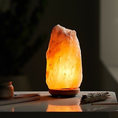 Natural Hand Carved Himalayan Pink Salt Lamp, 5-7lbs, New, light weight, COOL