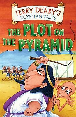 Egyptian Tales: the Plot on the Pyramid by Terry Deary Paperback Book Free Shipp