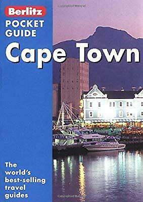 Cape Town Berlitz Pocket Guide (Berlitz Pocket Guides), , Used; Very Good Book