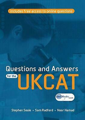 Questions and Answers for the Ukcat by Stephen Seale (English) Paperback Book Fr