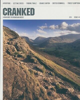Cranked - A magazine for Mountain Bikers - Issue 4