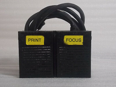 Enlarger Dual Pedal Foot Switch for Saunders/Omega  #461-054 Model #93009