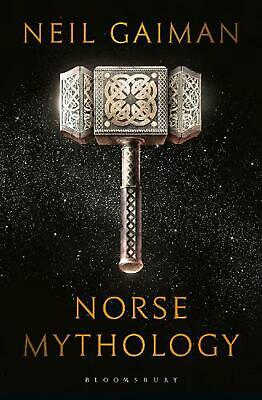 Norse Mythology by Neil Gaiman Hardcover Book Free Shipping!