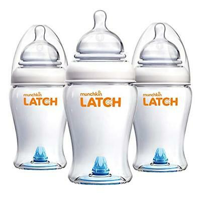 Latch BPA-Free Baby Bottle, 8 Ounce, 3 Pack NEW FREE SHIPPING