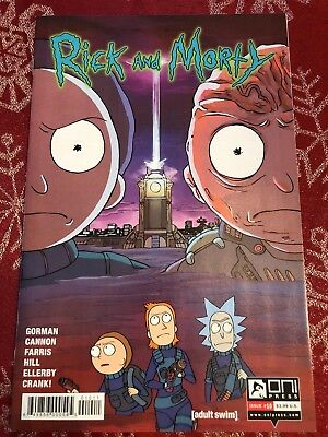 Rick and Morty #10 first printing!