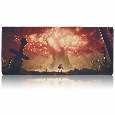 World of Warcraft World Tree Teldrassil Azeroth WOW Large Gaming Mouse Pad Mat