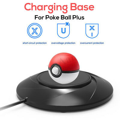 Chargeur Pad Rapide Support Type C Pour Nintendo Switch Poke Ball Plus Pokemon