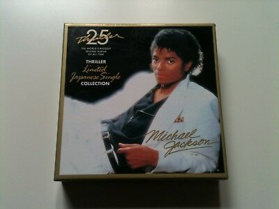 Michael Jackson ‎– Thriller 25: Limited Japanese Single Collection (7 CD Box)