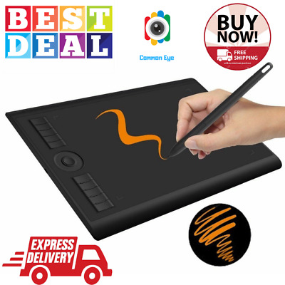 WACOM TABLET DRAWING Art Digital Pen Graphics Pad Usb Painting 8192  Pressure Pro