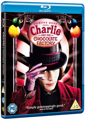 Charlie and the Chocolate Factory Blu-ray (2009) Johnny Depp