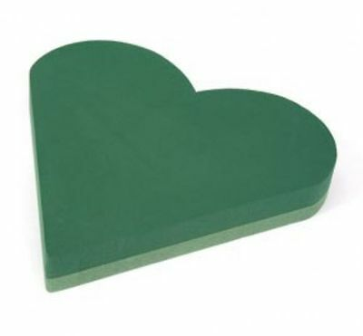 OASIS Floristry HEART 12inch Solid Heart funeral tribute waterproof polymer base