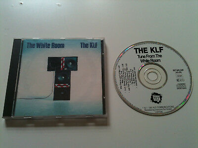 KLF - THE WHITE ROOM - CD Album © 1991 (What time is love,Last train to transc.