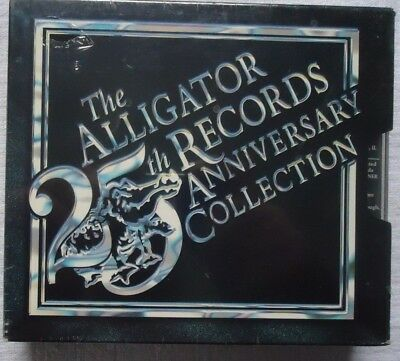 THE ALLIGATOR RECORDS 25th ANNIVERSARY COLLECTION 2 CD BOX SET FACTORY SEALED B1