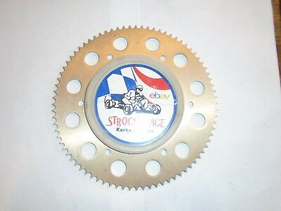 Racing Go Kart Nos 219 Chain One Piece Sprocket 80 Tooth Cart Part