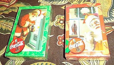 Lot of 2 Decks Coca-Cola Playing Cards NEW Factory Sealed