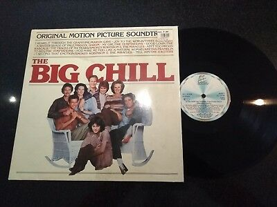 """The Big Chill"" 1983 Ost Lp Motown Marvin Gaye Temptations Aretha Franklin"