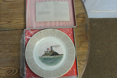 Confederate 1971 Civil War Limited Edition Lenox China Plate The Merrimac