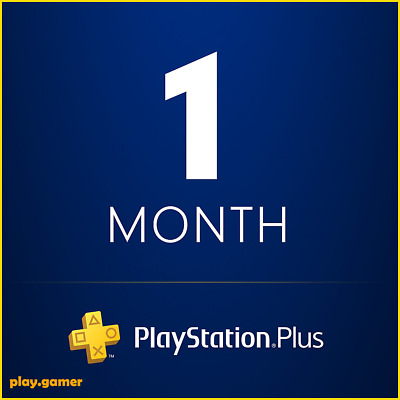 *5 Minute Delivery* 1 Month Playstation Plus - Ps3/ps4/psvita (No Code)