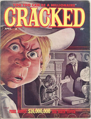 April 1961 CRACKED MAGAZINE #19. SEVERIN cover and lots of his art. NICE